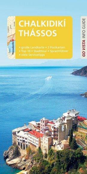 Go Vista Info Guide Reiseführer Chalkidikí & Thássos