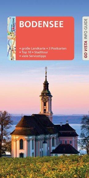 Go Vista Info Guide Reiseführer Bodensee, m. 1 Karte