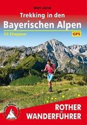 Rother Wanderführer Trekking in den Bayerischen Alpen