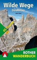 Rother Wanderbuch Wilde Wege Dolomiten
