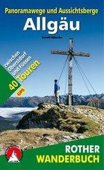 Rother Wanderbuch Panoramawege und Aussichtsberge Allgäu