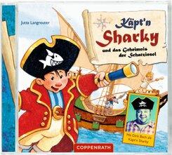 Käpt'n Sharky und das Geheimnis der Schatzinsel, Audio-CD