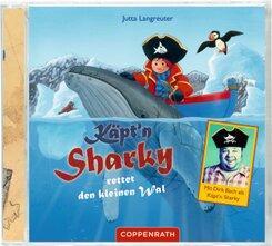 Käpt'n Sharky rettet den kleinen Wal, Audio-CD