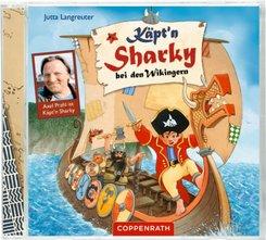 Käpt'n Sharky bei den Wikingern, 1 Audio-CD
