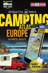 High 5 Edition Interactive Mobile Camping Atlas Europe 2018/2019