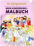 Mein Kinderbibel-Malbuch - Die Ostergeschichte