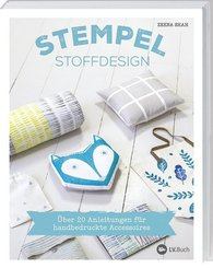 Stempel-Stoffdesign