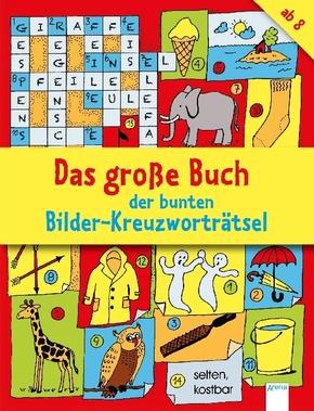 Das große Buch der bunten Bilder-Kreuzworträtsel