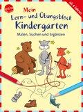 Mein Lern- und Übungsblock Kindergarten: Malen, Suchen und Ergänzen