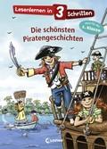 Lesenlernen in 3 Schritten - Die schönsten Piratengeschichten