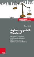 Asylantrag gestellt: Was dann?