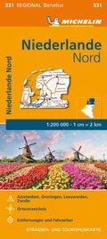 Michelin Karte Niederlande Nord