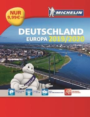 Michelin Straßenatlas Deutschland & Europa 2019/2020