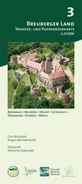 Odenwald Freizeitkarte Breuberger Land