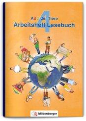 ABC der Tiere, Neubearbeitung 2016: 4. Schuljahr, Arbeitsheft Lesebuch