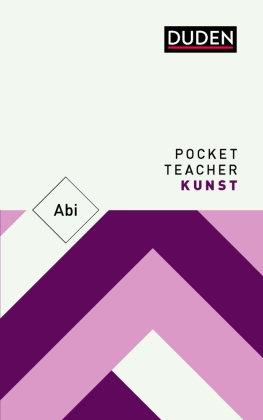 Pocket Teacher Abi Kunst