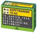 Kopftraining to go, 75 Karten