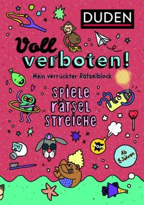 Voll verboten! Mein verrückter Rätselblock - Bd.2