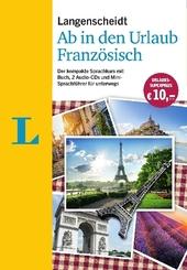 Langenscheidt Ab in den Urlaub - Französisch, m. 2 Audio-CDs
