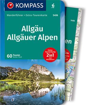 KOMPASS Wanderführer Allgäu, Allgäuer Alpen, m. 1 Karte