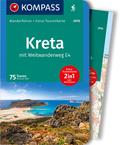 KOMPASS Wanderführer Kreta mit Weitwanderweg E4, m. 1 Karte