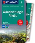 KOMPASS Wanderführer Wandertrilogie Allgäu, m. 1 Karte