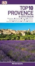 Top 10 Provence & Côte d'Azur, m. 1 Karte