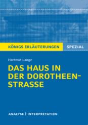 Hartmut Lange: Das Haus in der Dorotheenstraße