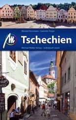 Tschechien Reiseführe, rm. 1 Karte