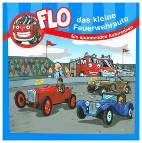 Flo, das kleine Feuerwehrauto - Ein spannendes Autorennen