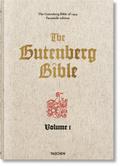 Bibelausgaben: Die Gutenberg-Bibel von 1454, 2 Bde. m. Begleitband; Taschen Verlag