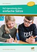 DaZ eigenständig üben: einfache Sätze - Grundschule
