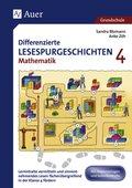 Differenzierte Lesespurgeschichten Mathematik 4