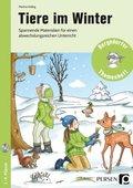 Tiere im Winter, m. CD-ROM