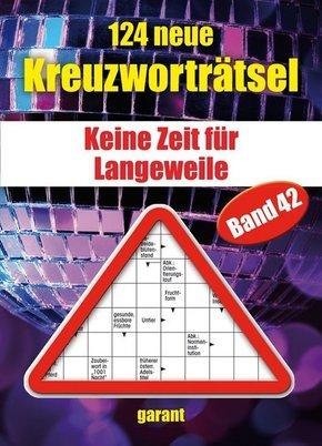 124 neue Kreuzworträtsel - Bd.42