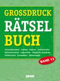 Grossdruck Rätselbuch - Bd.13