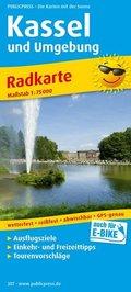 PUBLICPRESS Radkarte Kassel und Umgebung