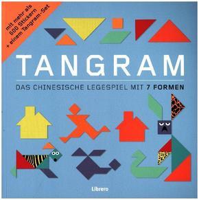 TANGRAM - Das chinesische Legespiel mit 7 Formen. Mit mehr als 600 Stickern