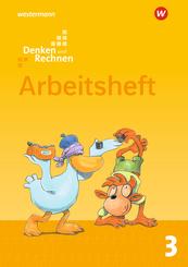 Denken und Rechnen, Allgemeine Ausgabe 2017: 3. Schuljahr, Arbeitsheft