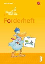 Denken und Rechnen, Allgemeine Ausgabe 2017: 3. Schuljahr, Forderheft