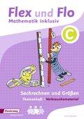 Flex und Flo - Mathematik inklusiv: Themenheft Sachrechnern und Größen C (Verbrauchsmaterial)