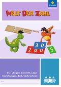 Welt der Zahl - Inklusionsmaterialien: Längen, Gewicht, Lagebeziehungen, Zeit, Sachrechnen (E4); .E4