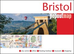 Popout Map Bristol Single