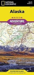 National Geographic Adventure Map United States, Alaska