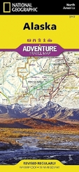 National Geographic Adventure Map United States, Alaska