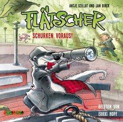 Flätscher - Schurken voraus!, 1 Audio-CD