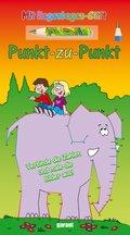 Punkt-zu-Punkt - Elefant