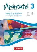 ¡Apúntate! - Nueva edición: Cuaderno de ejercicios mit interaktiven Übungen, Ausgabe Gymnasium; 3