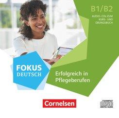 Fokus Deutsch - Fachsprache - B1/B2, Audio-CDs zum Kursbuch im wav-Format