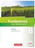 Fundamente der Mathematik, Gymnasium G9 Hessen: 8. Schuljahr, Schülerbuch